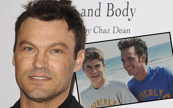 Brian Austin Green Texted 'Beverly Hills, 90210' Co-Star Luke Perry After His Death