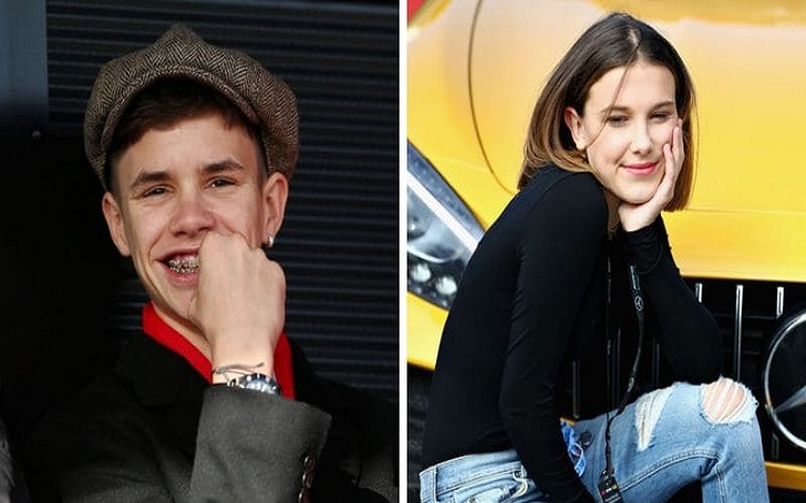 David Beckham son Romeo Beckham is 'Dating' Stranger Things' Millie Bobby Brown