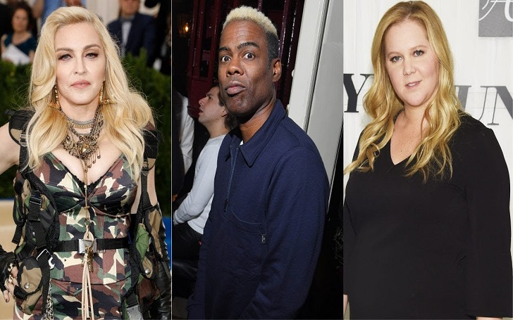 Amy Schumer, Madonna, Chris Rock, More Celebrities Donate to Christchurch Shooting Victims