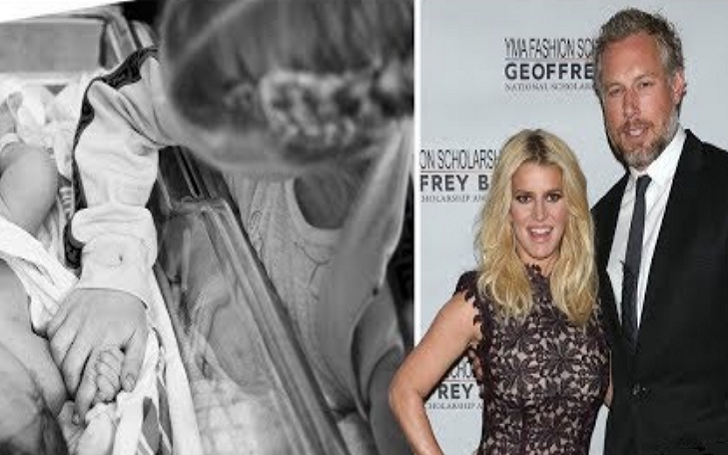 Jessica Simpson Gives Birth, Welcomed Third Child, a Baby Girl, With Husband Eric Johnson