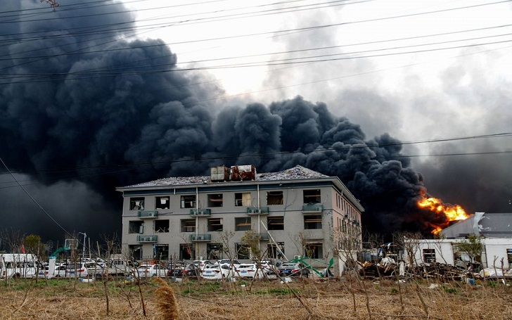 Explosion at Chinese Chemical Plant, Chenjiagang Industrial Park, Kills 50 in Yancheng