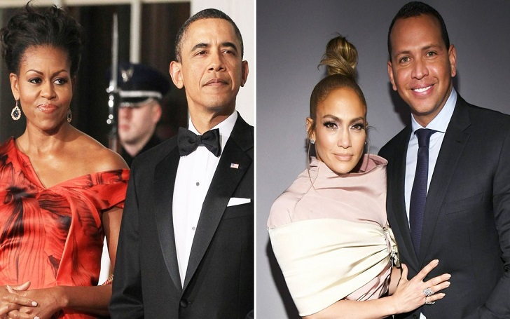 Barack Obama and Wife Michelle Obama Send Jennifer Lopez and Alex Rodriguez a Letter on Engagement