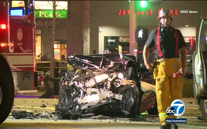 A Boy, 17, Arrested and Charged With Murder After Woodland Hills Crash: 1 Dead & 3 Injured