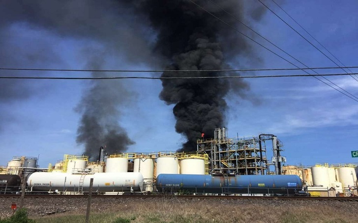 Texas Chemical Plant Explodes: Fire Kills 1 Worker and Injures 2 People