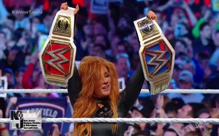 Becky Lynch Wins First Ever All-Female Main Event at WrestleMania 35