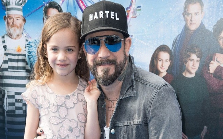 AJ McLean Receives Heartbreaking Text He From His Daughter Ava, 6