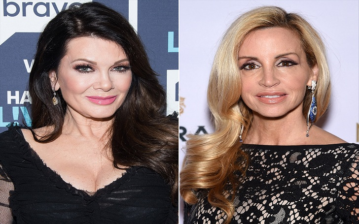 Camille Grammer Begs Sorry For Joking About Lisa Vanderpump's Teeth