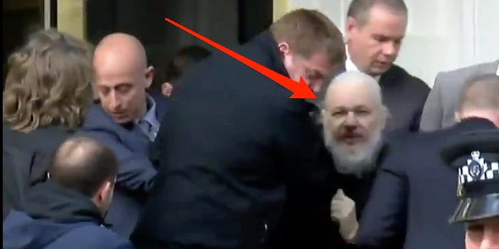 Wikileaks' Co-founder Julian Assange Arrested in London