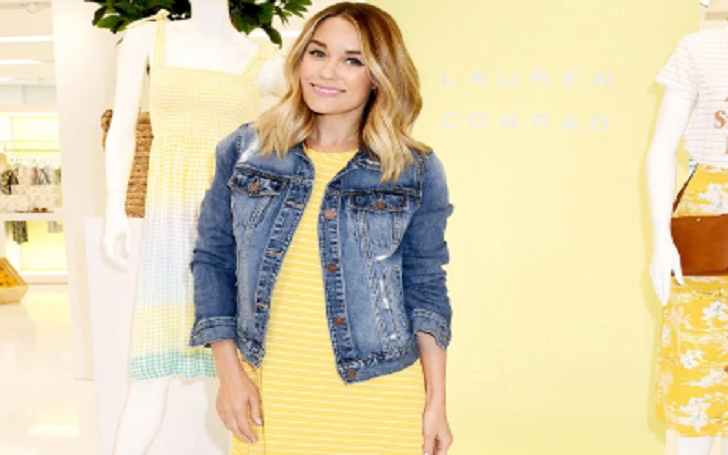 Pregnant Lauren Conrad Shows Off Baby Bump in Stripes 2