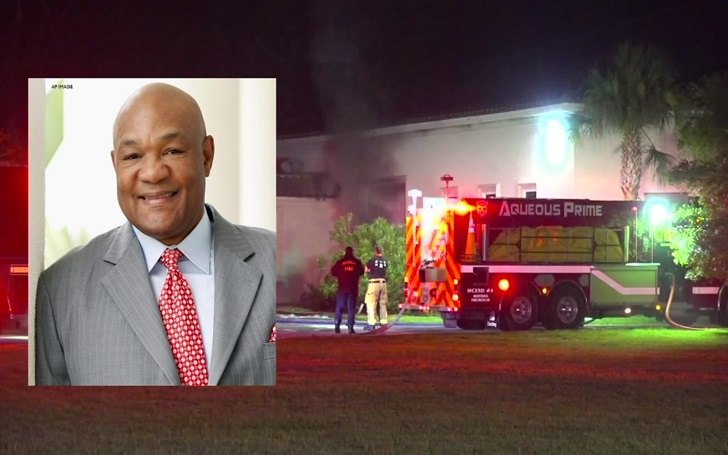 At Least 40 Cars Destroyed in Garage Fire at George Foreman's home in Texas