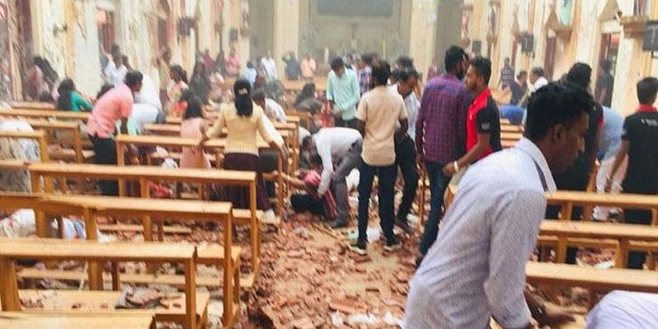 42 Killed and 280 Injured in an Explosion in Sri Lanka on Easter Sunday