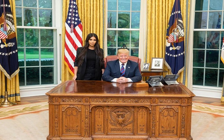 Kim Kardashian Faces Criticism For Working With Donald Trump, But She Doesn't Care