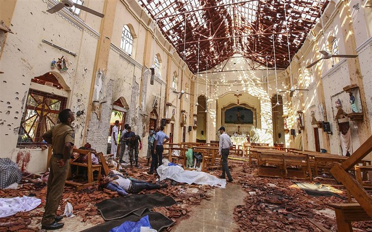 At Least 207 People Killed in Explosions at Multiple Churches and Hotels in Sri Lanka