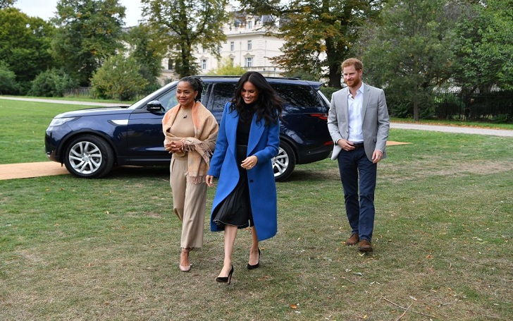 Meghan Markle's Mom Doria Ragland Reports in London as Due Date Nears