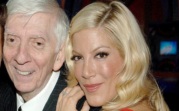 Tori Spelling Pays Tribute to Her Late Father Aaron Spelling on His Birthday