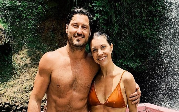 Val Chmerkovskiy and Wife Jenna Johnson Enjoys 'Paradise' in St. Lucia With 1 Week After Wedding