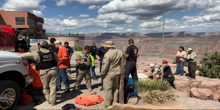 70-years-old Woman Dies after Falling from the Grand Canyon