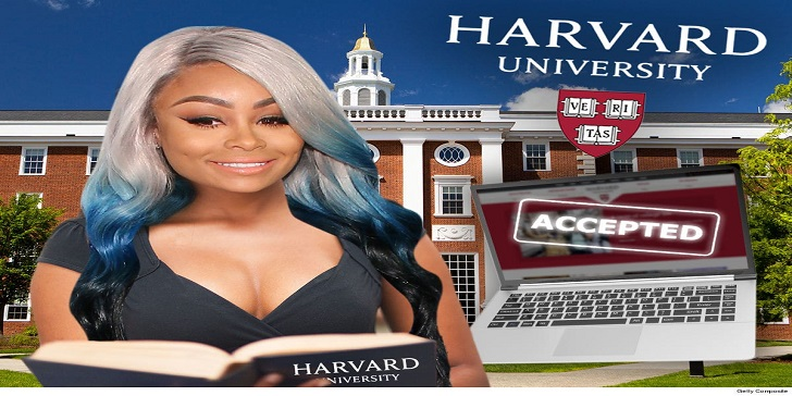 American Model Blac Chyna Enrolled Into Harvard University Without any Bribes
