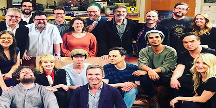 The Big Bang Theory Filming its Final Episode; End of the Series