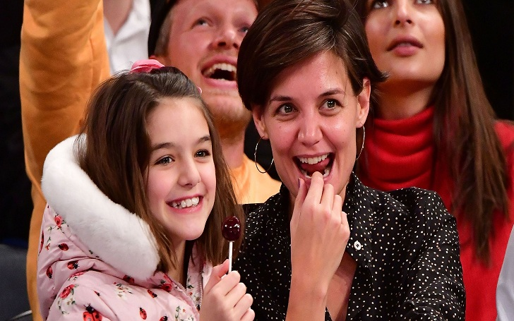 Katie Holmes Takes Her Daughter to Paris on Her 13th Birthday