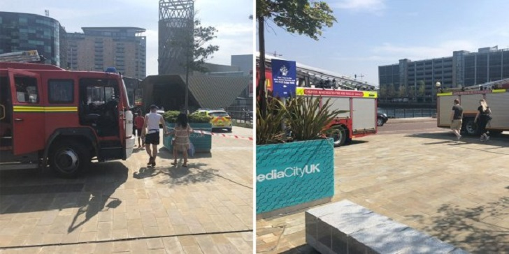 Dead Body Found Floating in Water Near BBC Headquarters