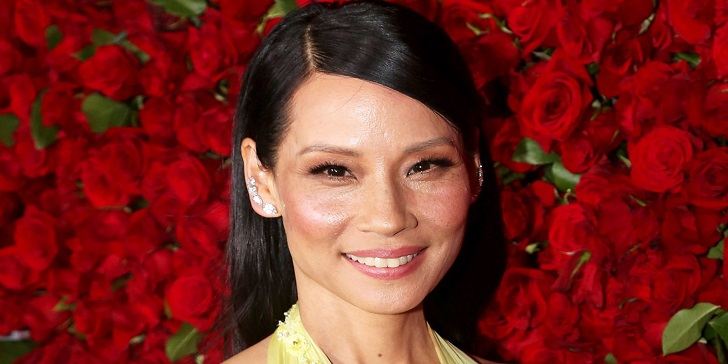 Asian-American Actress, Lucy Liu, Receiving a Star on the Hollywood Walk of Fame