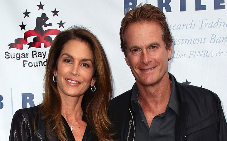 Cindy Crawford Links Arms With Husband Rande Gerber as They Celebrate His 57 Birthday