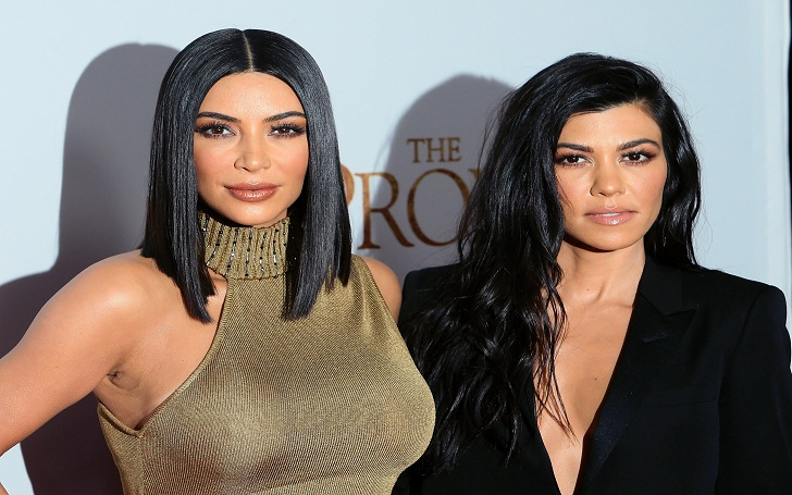 Kourtney Kardashian Makes Joke About Kim Becoming a Lawyer: