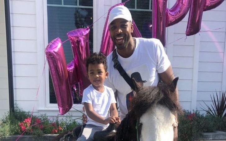 Tristan Thompson Celebrates Son Prince, 2, Birthday: Spends Time Together