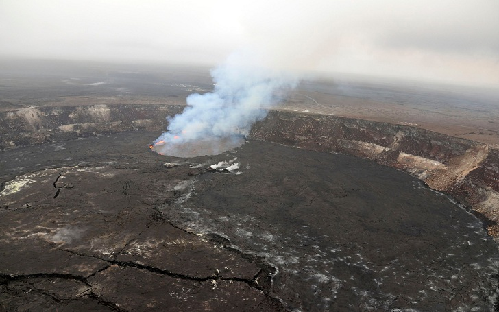 A Man Survives Despite Falling 70 Feet Into Hawaii's Kilauea Volcano