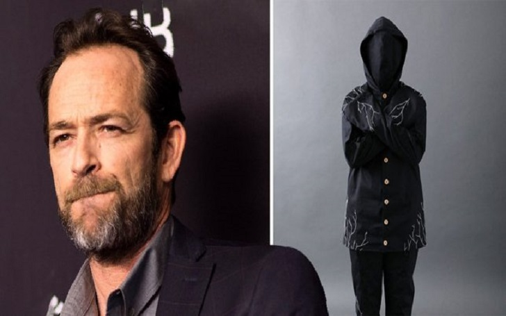 Luke Perry Was Buried in an Eco-Friendly Mushroom Suit