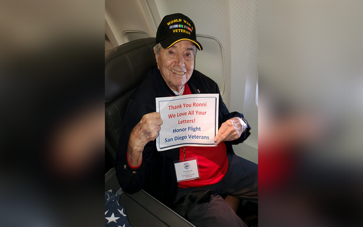 WWII veteran Frank Manchel Dies in a Plane At Age 95