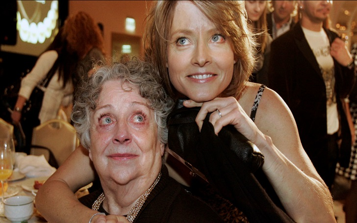 Jodie Foster's Mother Evelyn Foster Dies At Age 90