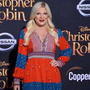 Tori Spelling's Birthday Becomes a Memorable One on The Sets of