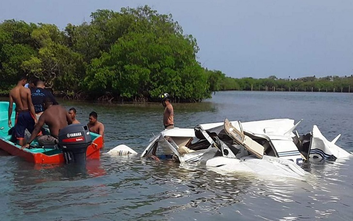 5 Tourists Killed After a Plane Crashed Into Sea in Honduras