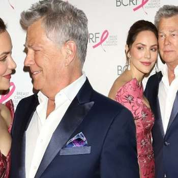 Katharine McPhee and David Foster Get Marriage License at L.A. Courthouse
