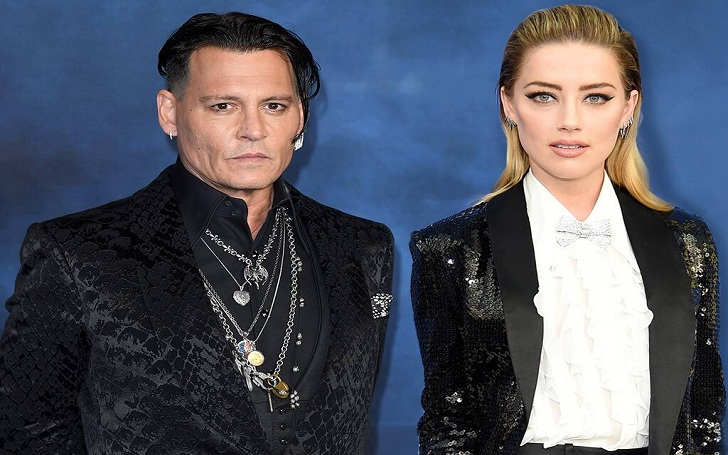 Johnny Depp & Ex-Wife Amber Heard at War, Johnny Denies Domestic Violence Against Amber