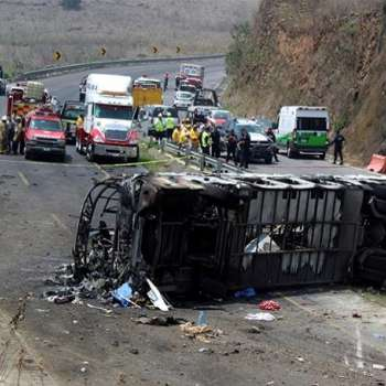 Mexico Bus Accident: At Least 21 People Killed and Dozens Injured