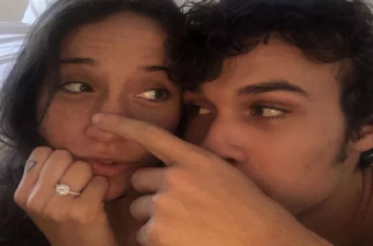 Stella Maeve and Benjamin Wadsworth Get Engaged: Engagement Ring Photo