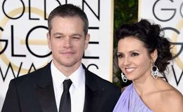 Matt Damon and his spouse Luciana Barroso happy with their marriage and children
