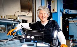 Edd China proud to hold many Guinness World Records including largest motorised shopping trolley
