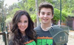 Ryan Newman discloses what it's like to work with her boyfriend Jack Griffo on 'The Thundermans'