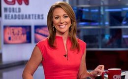 Are CNN Newsroom anchor Brooke Baldwin and fiancee James Fletcher expecting a baby?