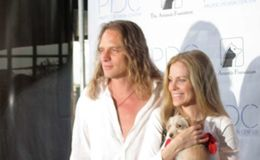 Kristin Bauer Van Straten and her husband Abri Van Straten having a smooth marriage