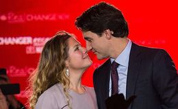 Justin Trudeau and wife Sophie Gregoire Trudeau happily married; live as a family with 3 children