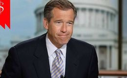 With a net worth of $40 million and a high salary, Brian Williams one of the richest news anchors