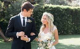 Ashley Tisdale, husband Christopher French married happily as they celebrate 2nd wedding anniversary