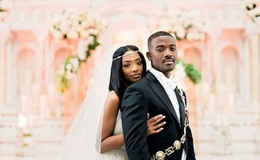 After dating for a long time Princess love and husband Ray J married in beautiful wedding ceremony