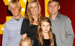 Ricky Schroder married his wife Andrea Bernard living happily with 4 children or divorced?