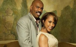 Marcia Harvey married Steve Harvey and divorced in 1994; Is she dating Larry Greene?